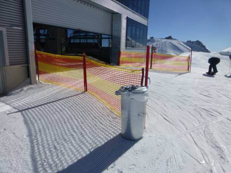 Tux-Finkenberg: cleanliness of the ski resorts – Cleanliness Hintertux Glacier (Hintertuxer Gletscher)