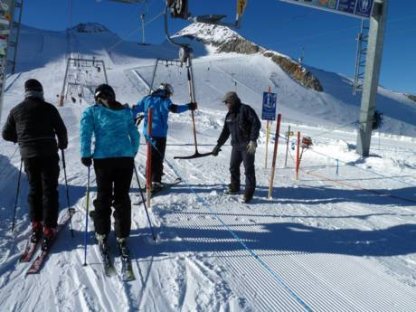 Tux-Finkenberg: Ski resort friendliness – Friendliness Hintertux Glacier (Hintertuxer Gletscher)