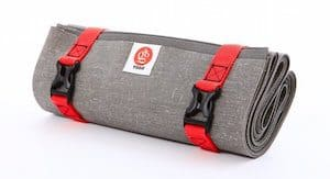 YOGO makes the best folding yoga mat for travel